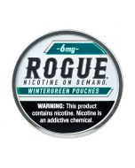 Rogue Wintergreen 6mg, All White Nicotine Pouches