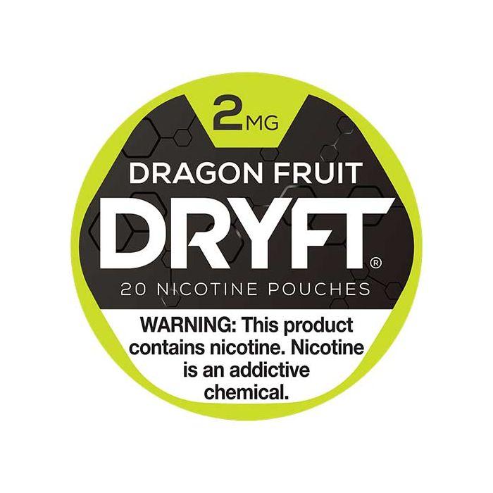 Dryft Dragon Fruit, 2mg, White Dry Mini