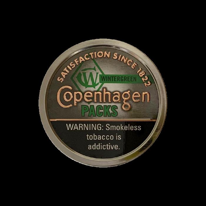 Copenhagen Wintergreen Packs