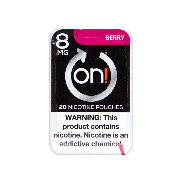 on! Berry 8mg Dry White Mini