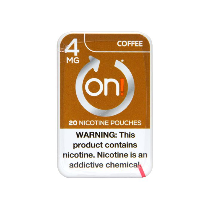 on! Coffee 4mg Dry White Mini