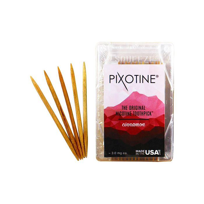 Pixotine Cinnamon Nicotine Toothpicks