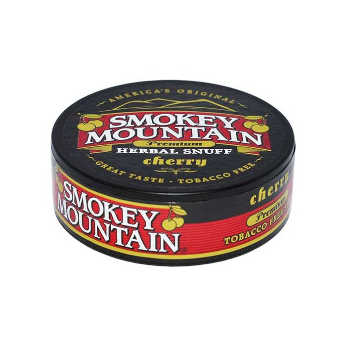 Smokey Mountain Cherry Tobacco Free Long Cut