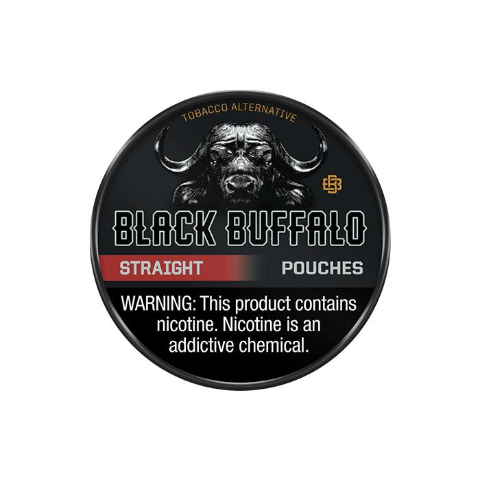 Black Buffalo Straight Nicotine Pouches