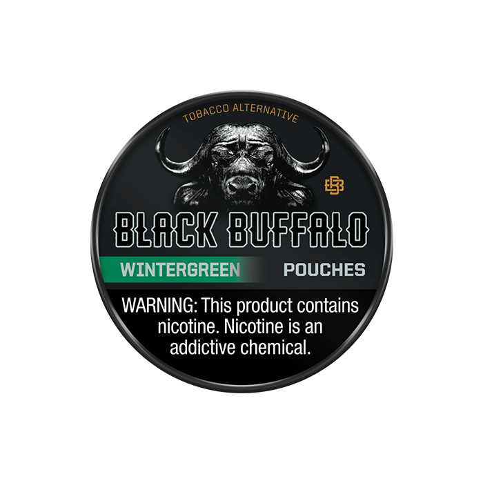 Black Buffalo Wintergreen Nicotine Pouches