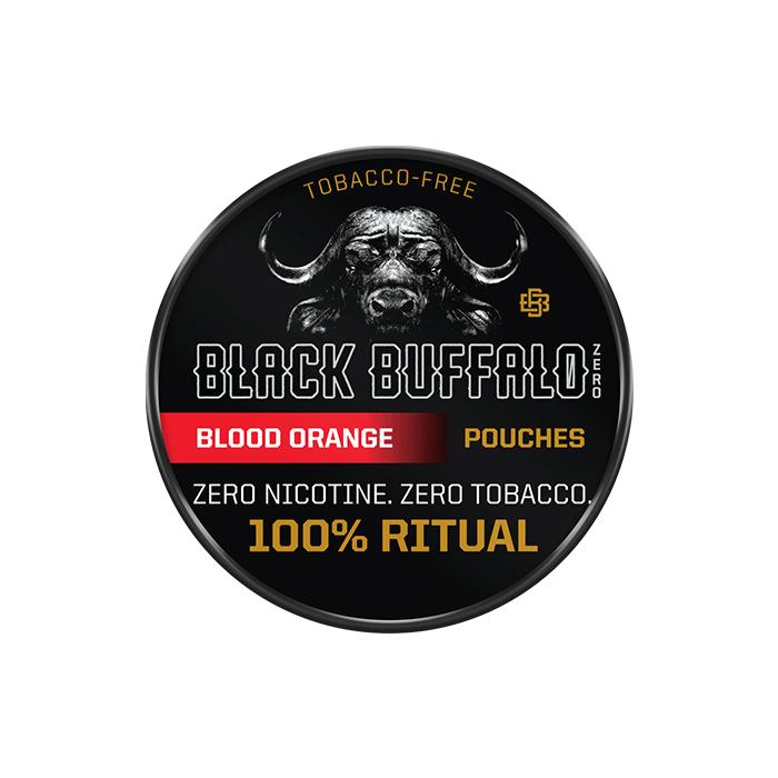 Black Buffalo Blood Orange ZERO Nicotine Pouches
