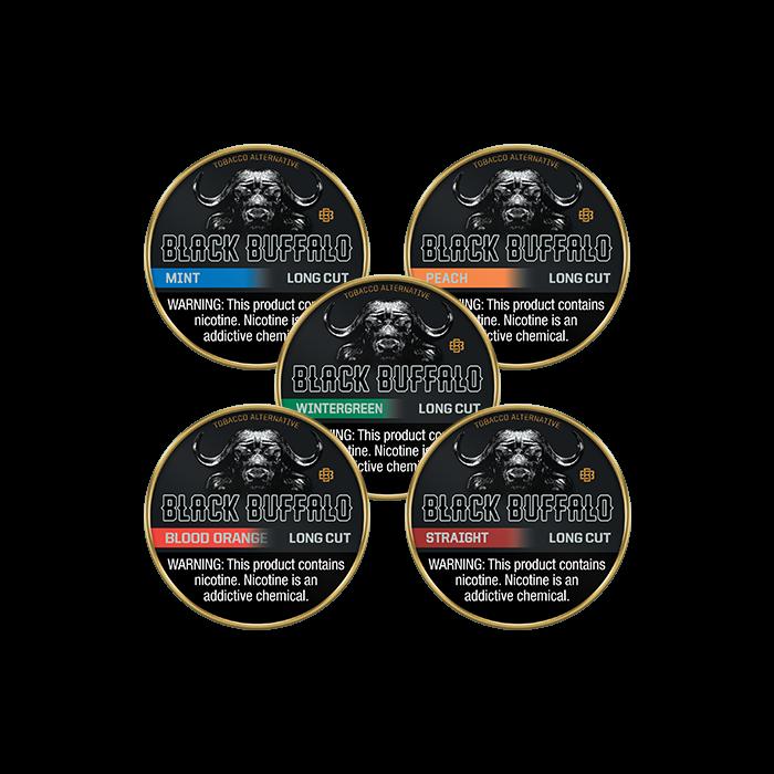 Black Buffalo Long Cut Mixpack