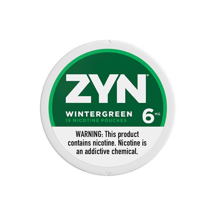 ZYN 6mg Wintergreen White Mini Portion