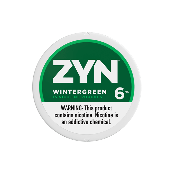 Zyn 6mg Wintergreen Mini Strong Nicotine Pouches