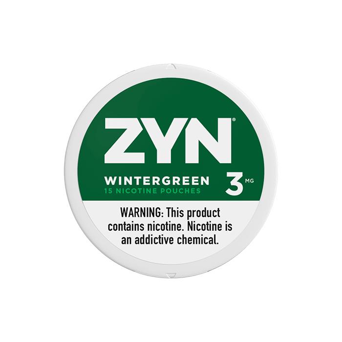 ZYN 3mg Wintergreen White Mini Portion