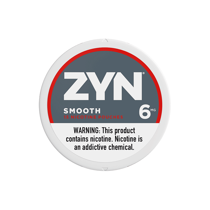 Zyn 6mg Smooth Mini Strong Nicotine Pouches