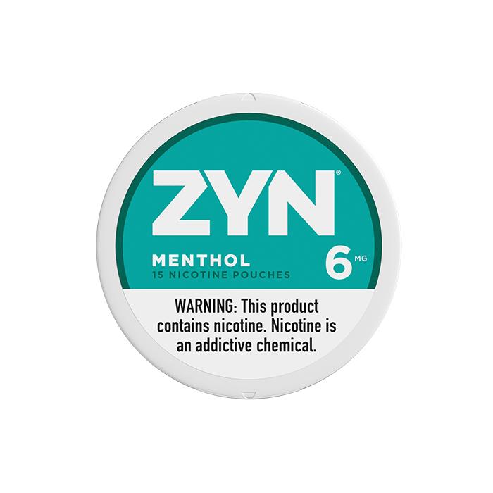 ZYN Menthol 6MG Nicotine Pouches