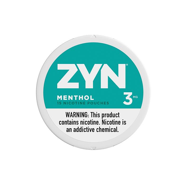 ZYN Menthol 3MG Nicotine Pouches