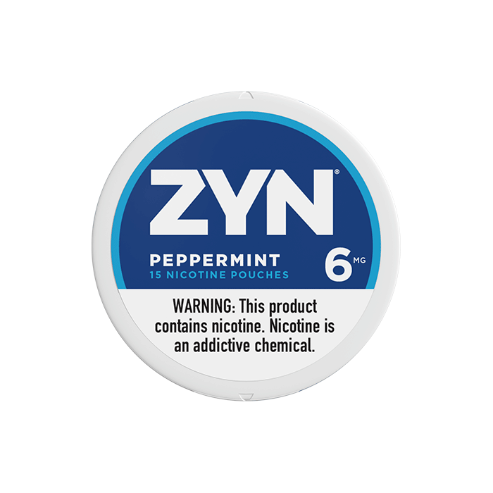 ZYN 6mg Peppermint White Mini Portion