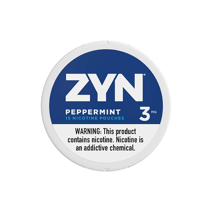 ZYN 3mg Peppermint White Mini Pouch
