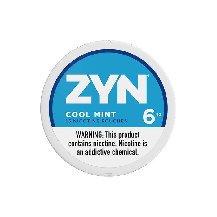 ZYN 6mg Cool Mint White Mini Portion