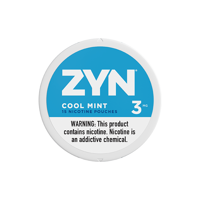 ZYN 3mg Cool Mint White Mini Portion