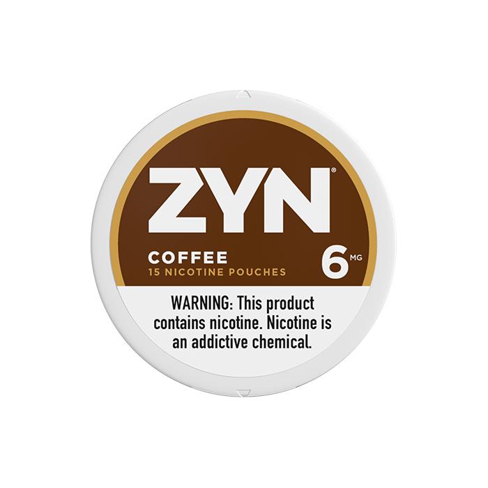 ZYN 6mg Coffee White Mini Portion
