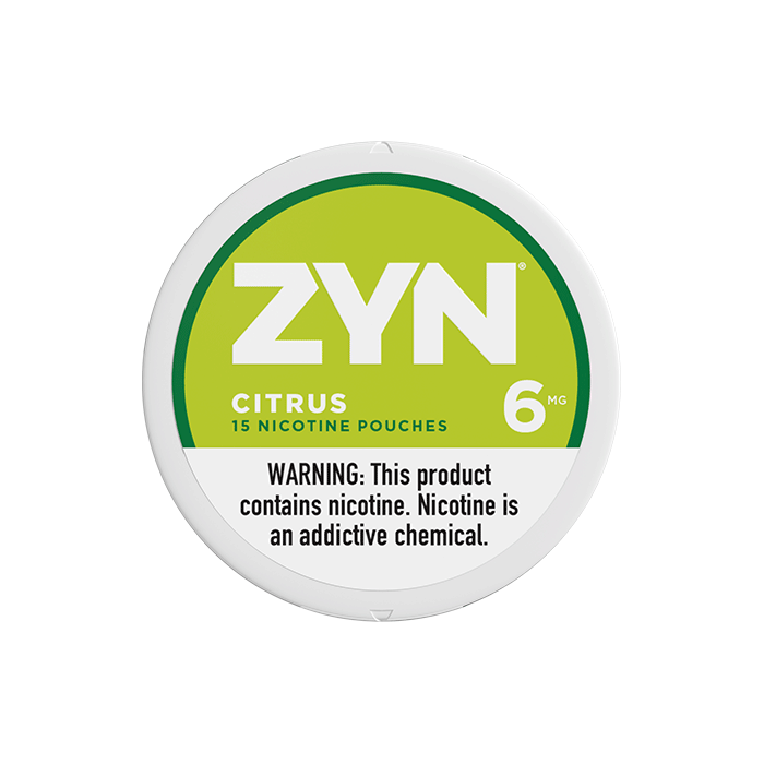 ZYN 6mg Citrus White Mini Portion