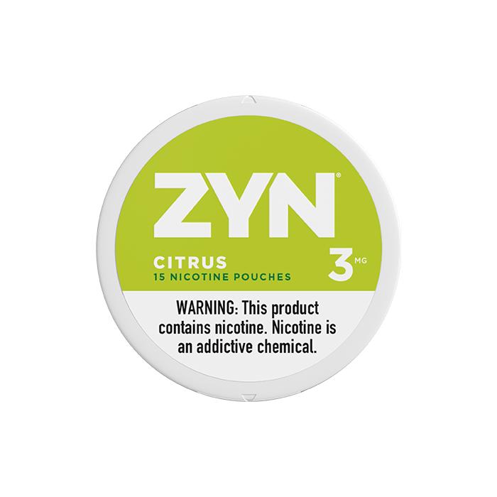 ZYN 3mg Citrus White Mini Portion