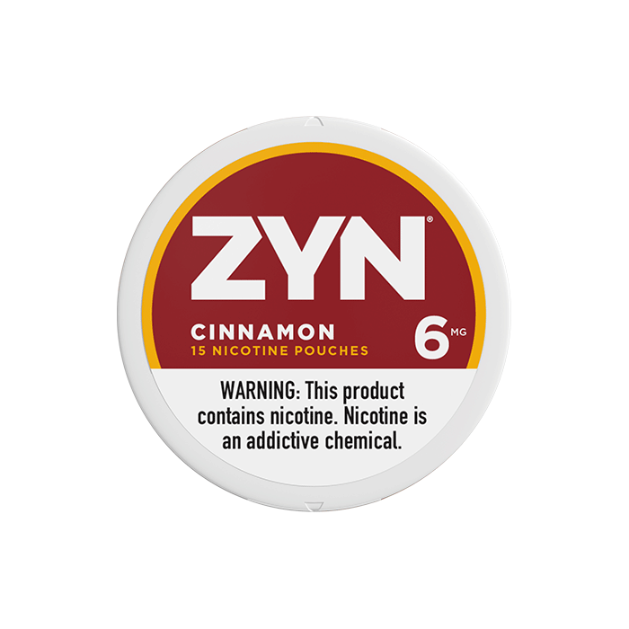 ZYN 6mg Cinnamon White Mini Portion