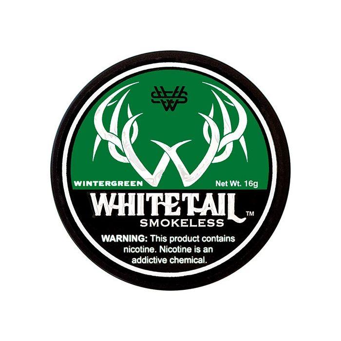 Whitetail Wintergreen Full 56oz Fine Cut Pouches
