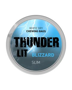 Thunder Blizzard Slim White Dry Chew Bags