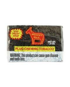 Brown's Mule Plug Chewing Tobacco