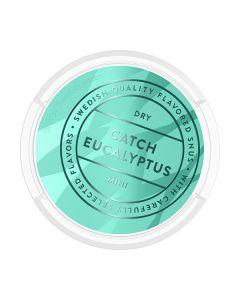 CatchDry Eucalyptus White Mini Portion Snus
