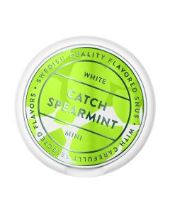Catch Spearmint White Mini Portion Snus