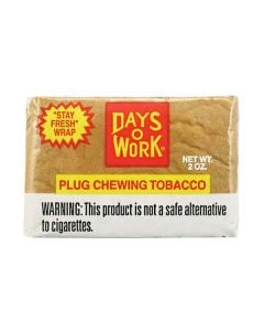 Days Work Plug Chewing Tobacco
