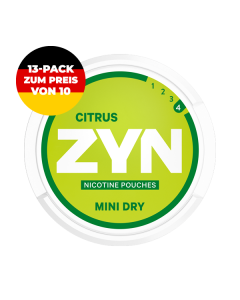 ZYN Mini Citrus 6mg Deutschland
