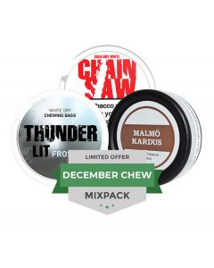 December Chew LTD Mixpack, 3-pack