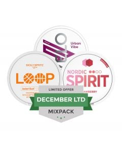 December LTD Mixpack, 3-pack