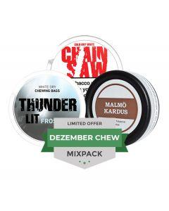 Dezember Chew LTD Mixpack, 3-pack