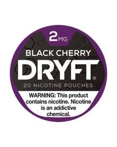 Dryft Cherry Black 2mg Mini Dry Nicotine Pouches
