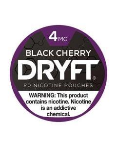 Dryft Black Cherry, 4mg, White Dry Mini