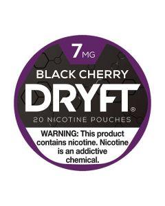 Dryft Cherry Black 7mg Mini Dry Nicotine Pouches