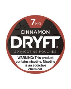 Dryft 7mg Cinnamon Mini Dry Nicotine Pouches
