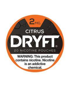Dryft 2mg Citrus Mini Dry Nicotine Pouches