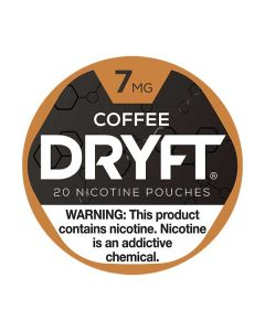 Dryft 7mg Coffee Mini Dry Nicotine Pouches
