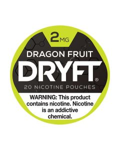 Dryft Dragon Fruit 2mg Mini Dry Nicotine Pouches
