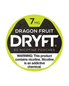 Dryft Dragon Fruit 7mg Mini Dry Nicotine Pouches