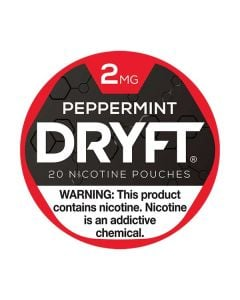 Dryft Pepper2mg Mint Mini Dry Nicotine Pouches