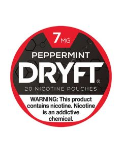 Dryft Peppermint 7mg Mini Dry Nicotine Pouches