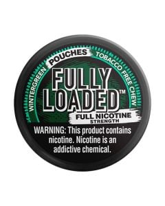 Fully Loaded Wintergreen Chew - Full Nicotine Strength