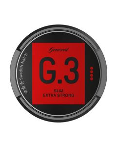 G.3 Slim Extra Strong Portion Snus