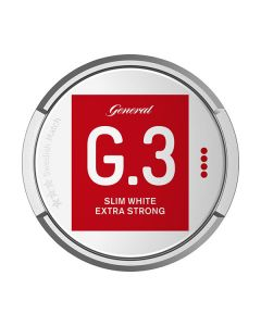 General Slim White Extra Strong Portion Snus