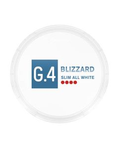 General G4 Blizzard Slim Strong Nicotine Pouches