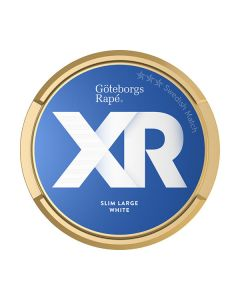 Xrange Göteborgs Rapé Slim White Portion Snus